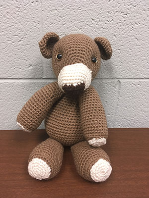 Stuffy Brown Bear